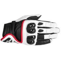 Alpinestars Celer Glove - Black/White/Red - SMALL