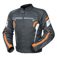 Dririder Air-Ride 4 Jacket - Black/White/Orange