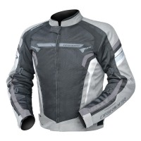 Dririder Air-Ride 4 Jacket - Silver/Black