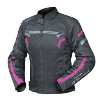 Dririder Air-Ride 4 Ladies Jacket - Black/Pink