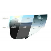Shoei CWR-1 Transitional Photochromic Visor - Suits NXR & RYD