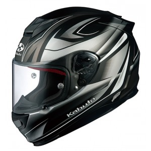 Kabuto RT33 Rapid - Matt Black/Silver