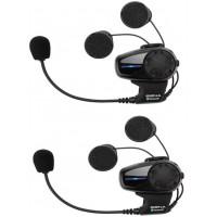 SENA SMH10 - Dual Pack - Suits Bell Mag-9 Helmet & DLX Qualifier Helmets
