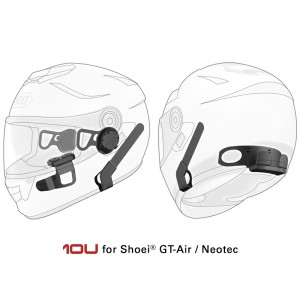SENA 10U with Bluetooth Handlebar Remote - Suits Shoei Gt-Air/ Neotec/ J-Cruise