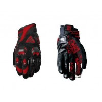 Five Stunt Evo Glove - Black/Red