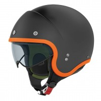 Nolan N21 Durango Flat Black/Orange