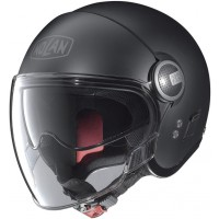 Nolan N21V (With External Visor) Flat Black