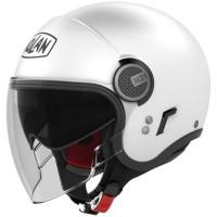 Nolan N21V (With External Visor) Gloss White