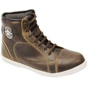 Motodry Urban Leather Boot - Brown