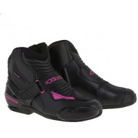 Alpinestars Stella SMX-1R Ladies Boot - Black/Fuchsia