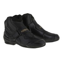 Alpinestars Stella SMX-1R Ladies Boot - Black/Gold