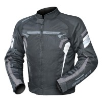Dririder Air-Ride 4 Jacket - Black/White/Grey