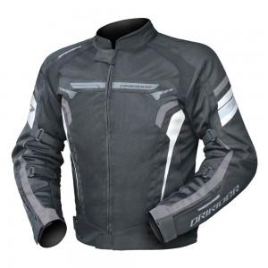 Dririder Air-Ride 4 Jacket - Black/White/Grey