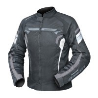 Dririder Air-Ride 4 Ladies Jacket - Black/White/Grey