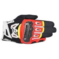 Alpinestars SMX-2 v2 Air Carbon Glove - Black/Red/Yellow