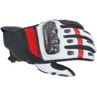 Dririder Strike Glove - White/Red