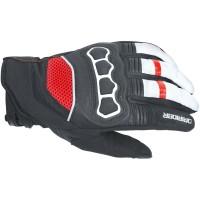 Dririder Street Glove - Black/White/Red (No current ETA)