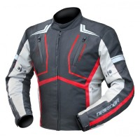 Dririder Strada Jacket - Black/Grey/Red