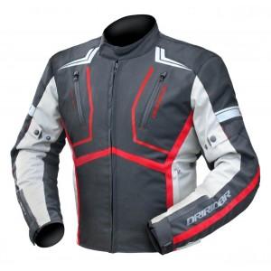 Dririder Strada Jacket - Black/Grey/Red