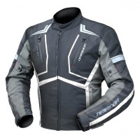 Dririder Strada Jacket - Black/White/Anthracite