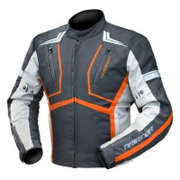 Dririder Strada Jacket - Black/Grey/Orange