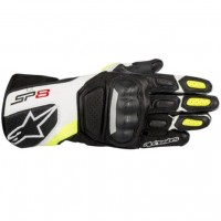 Alpinestars SP-8 v2 Glove - Black/White/Yellow