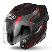 Airoh Rev Revolution Matt Black/Red