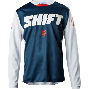 Shift WHIT3 97 Jersey - Blue - 2XL
