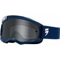 Shift WHIT3 Label  Navy Goggles