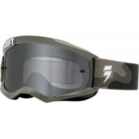 Shift WHIT3 Label Camo Goggles- Chrome/ Spark Lens