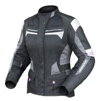 Dririder Apex 4 Airflow Ladies Jacket - Black/White/Grey