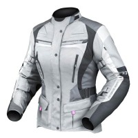 Dririder Apex 4 Airflow Ladies Jacket -  Grey/White/Black