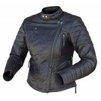 Dririder Venus Ladies Leather Jacket - Black