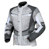 Dririder Apex 4 Airflow Jacket - Grey/White/Black