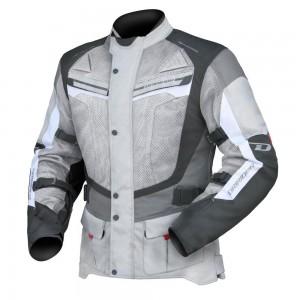 Dririder Apex 4 Airflow Jacket - Grey/White/Black