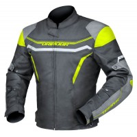 Dririder Grid Jacket - Black/Yellow