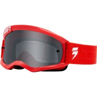 Shift WHIT3 Label Red Goggles