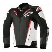 Alpinestars Atem v3 Leather Jacket - Red