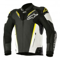 Alpinestars Atem v3 Leather Jacket - Yellow