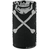 Fleece Lined Motley Tube - Skull
