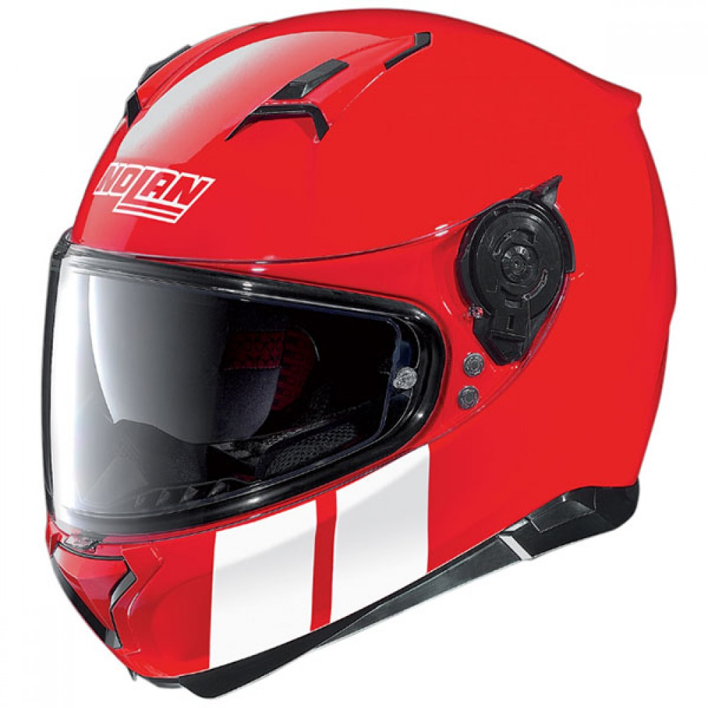 nolan n87 martz corsa red the helmet warehouse. Black Bedroom Furniture Sets. Home Design Ideas