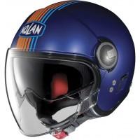 Nolan N21V (With External Visor) Joie De Vivre Cayman Blue